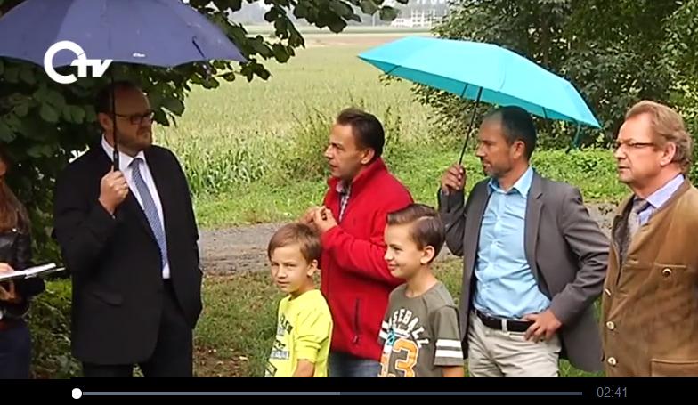 Bild OTV zu Besuch auf der Schneinderhof-Weide