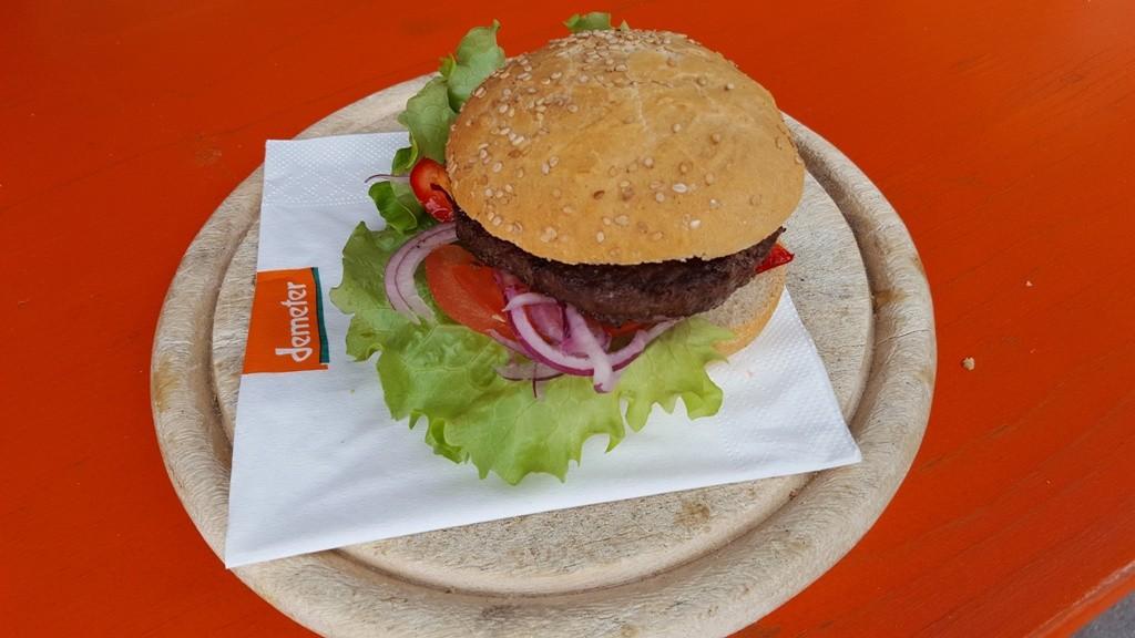 Burger-Verkauf BIODIVA